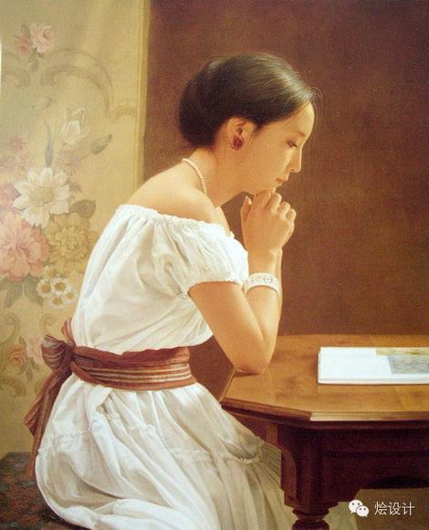 日本新古典主义绘画:森本草介作品(下)图片