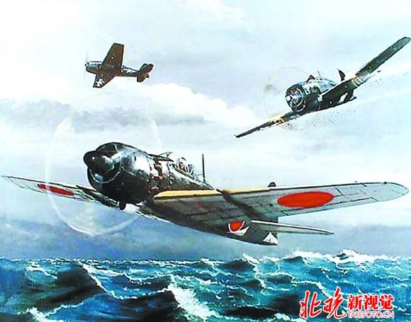 二战中日本零式战斗机