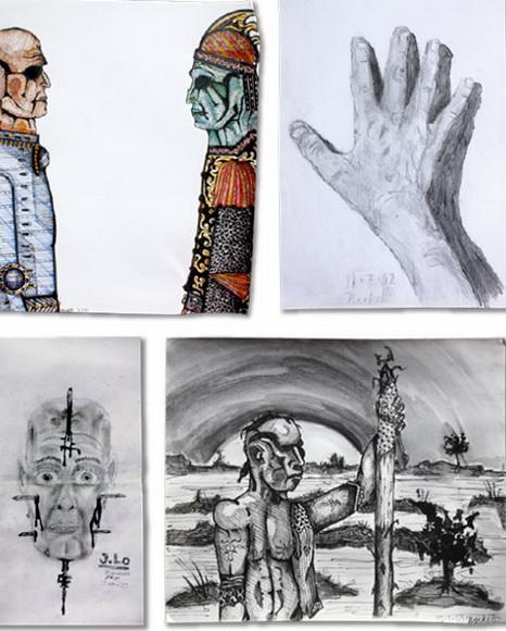 一个会画画的小孩是如何成为艺术家的