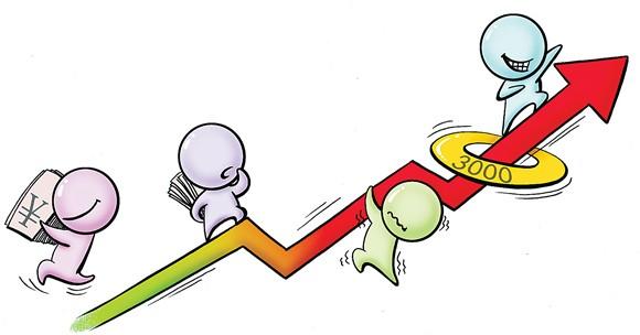 """纠结的""""票子"""":股市有风险 投资应谨慎图片"""