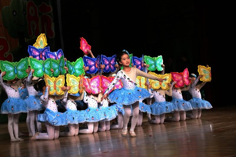 北京博凯智能全纳幼儿园艺术节举行