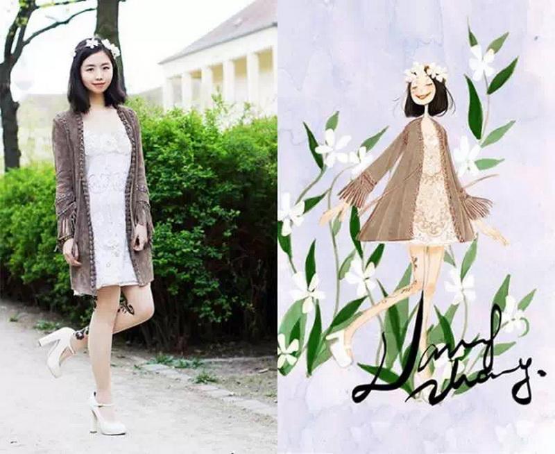 张小溪:萌妹子画出来的时尚(上)