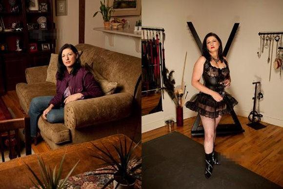 探访换妻俱乐部成员BDSM实践者 家中挖地牢性虐邻居老婆图片