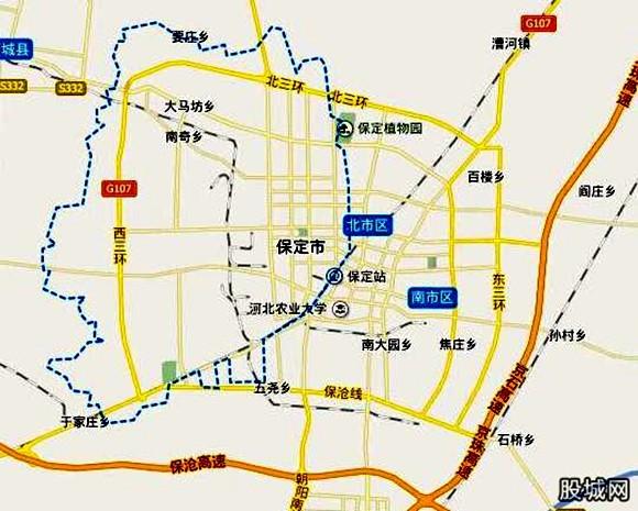 保定行政区划调整大保定初具规模 助推京津冀城市群建设