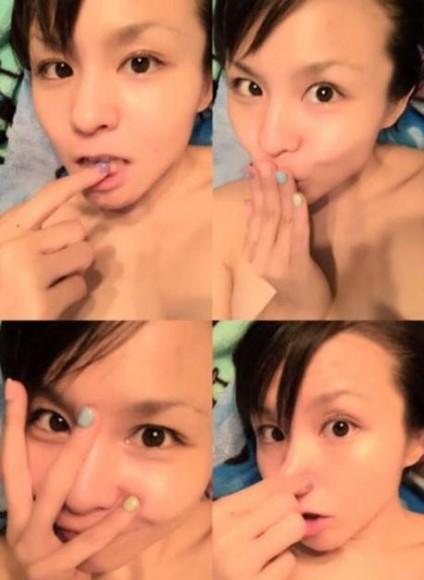 日本女星幸田来未妹妹浴后裸身自拍