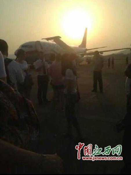 上海飞曼谷一航班备降南昌