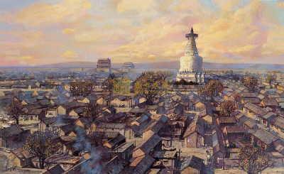"""首都博物馆""""搭""""北京老城 让孩子了解原汁原味老北京"""