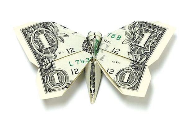 钱折纸大全步骤图解