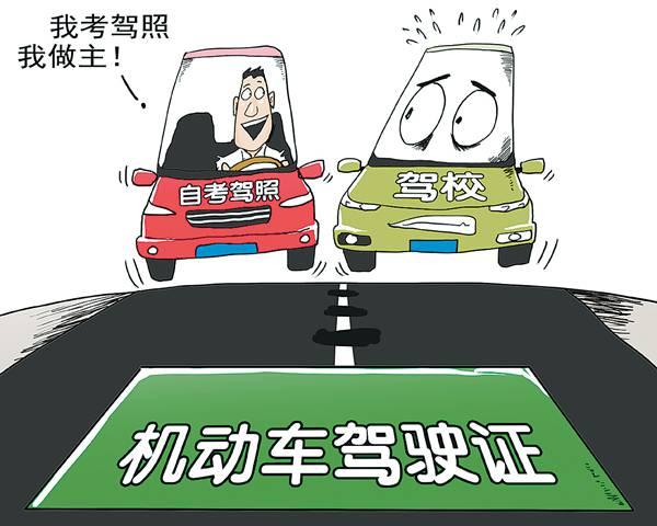 机动车驾驶人培训考试制度改革