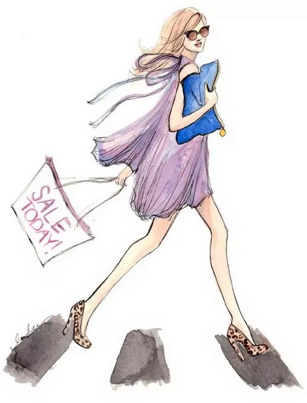 时尚服装手绘 | 北晚新视觉