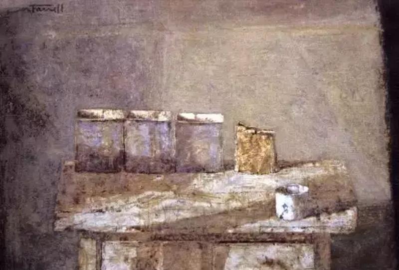 唐.法雷尔,原名道格拉斯亚瑟尼科尔森,出生在加拿大的温哥华。唐法雷尔的水彩作品在对各种水彩颜料的综合运用中,将材料与构图、作品意境完美的结合,厚重而浓郁,技巧娴熟又不乏精神传达,开拓出一种全新的视觉境界和审美需求。 来源: 水彩画投资收藏