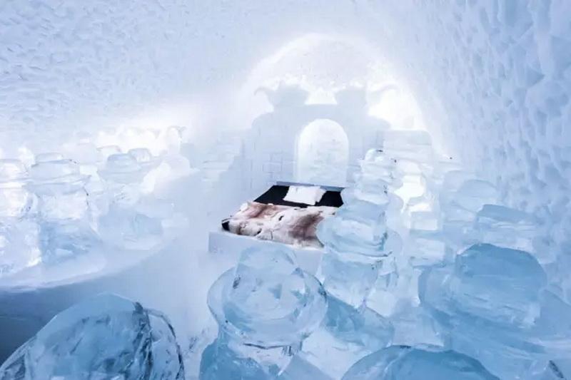 世界上最冷酷的冰雪酒店(上)
