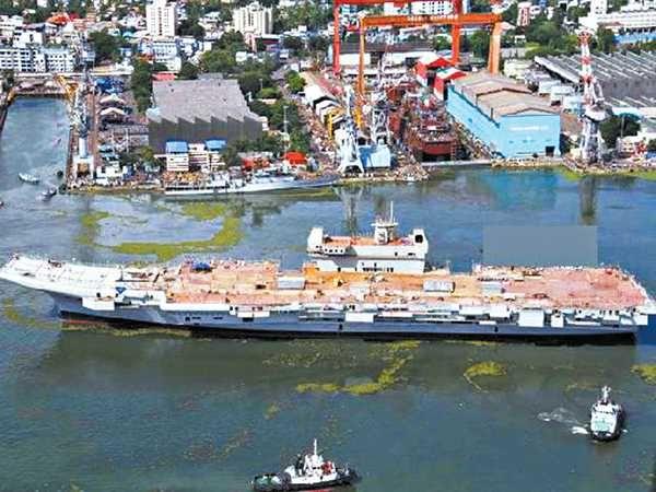 国产航母_印度首艘国产航母.