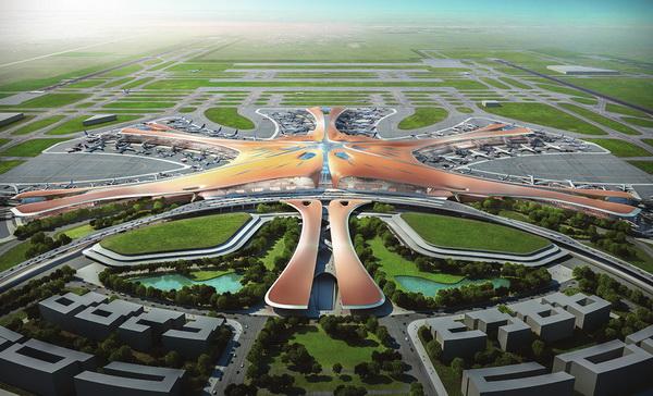 北京新机场航站楼已开始施工