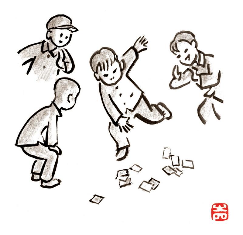 李滨声:漫画人生之《童年记趣》