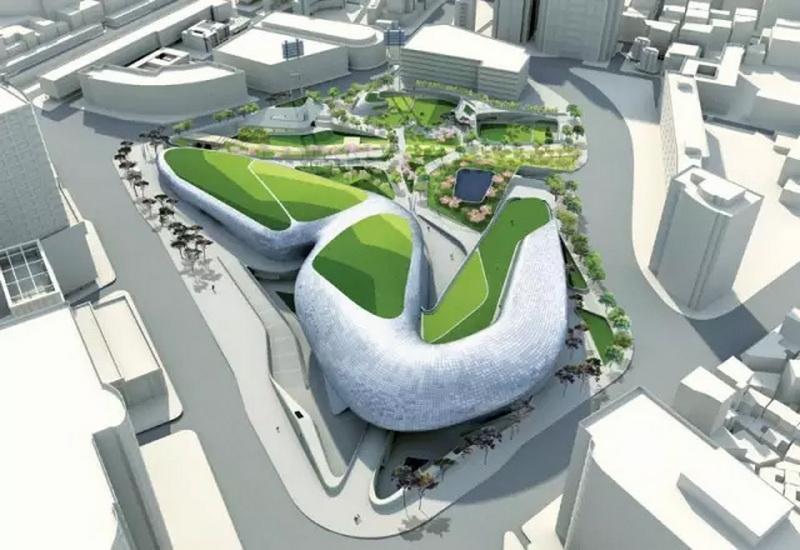 【首尔东大门设计广场及公园】该项目内有博物馆