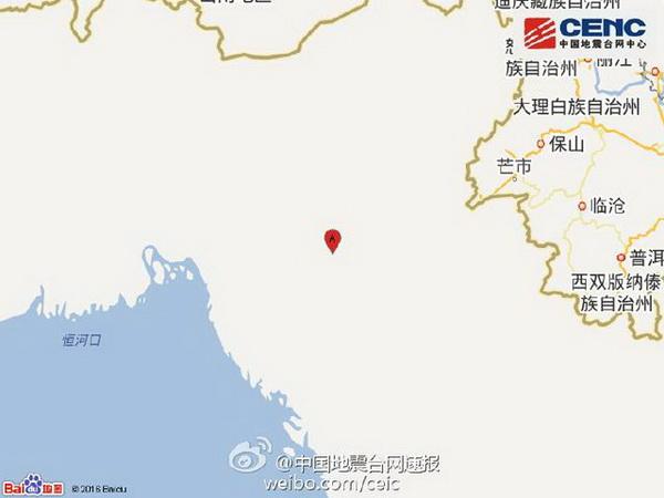 今日主打  地震位置 百度地图截图 周边地区网友评论: 熊瓜瓜_:拉萨震