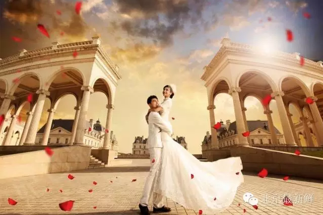 欧式婚纱摄影无水印