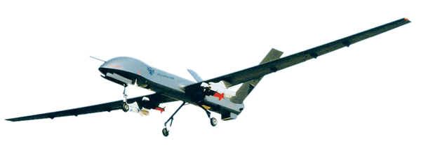 中国彩虹-4无人机大放异彩背后 墙内开花墙外香图片