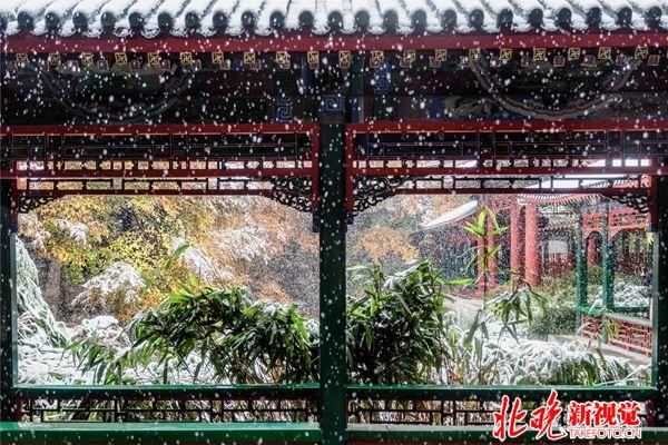 10古典北京-雪花飘飘-谐趣园回廊-颐和园+张晓莲_副本