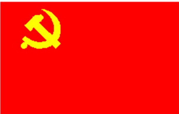 党旗简笔画图片大全