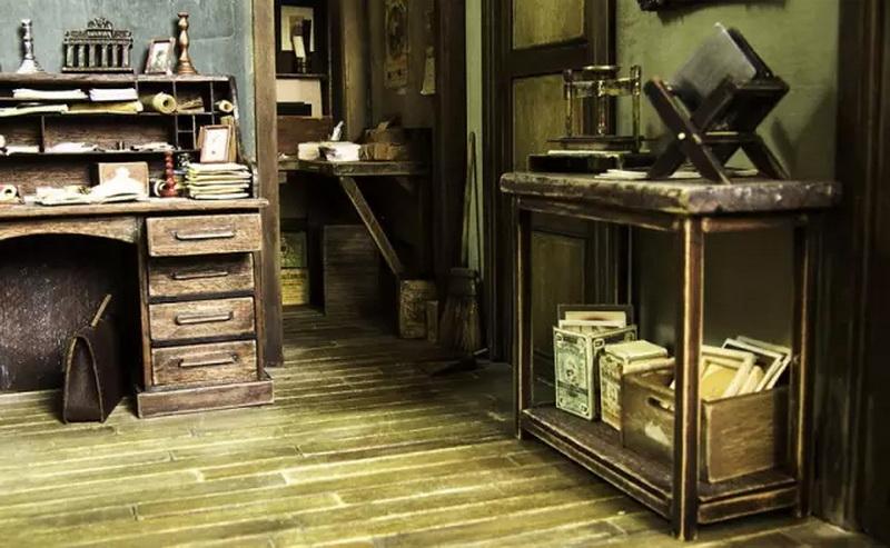 是以为这是哪家装修复古的照相馆?其实,这是由 Alamedy Diorama ...