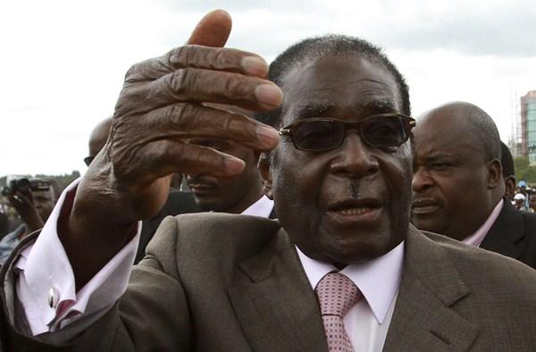 津巴布韦总统罗伯特-穆加贝 资料图