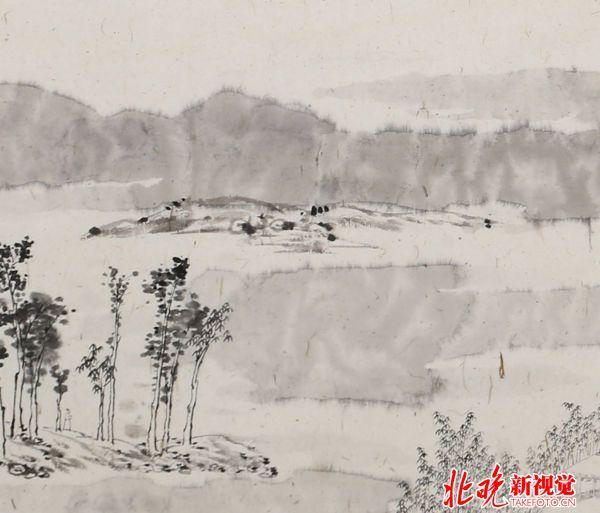 最爱湖东行不足,绿杨阴里白沙堤(局部)