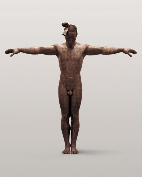 蔡志松 故国•颂 No.7 60×15×63.5cm 铸铜 2005-2006_调整大小