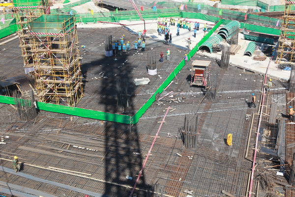 """总承包的北京新机场主航站楼地下结构工程""""跃""""出地面"""