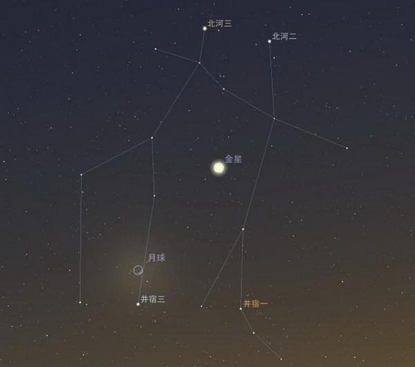 4728,金星会月浪漫情(原创) - 春风化雨 - 春风化雨的博客
