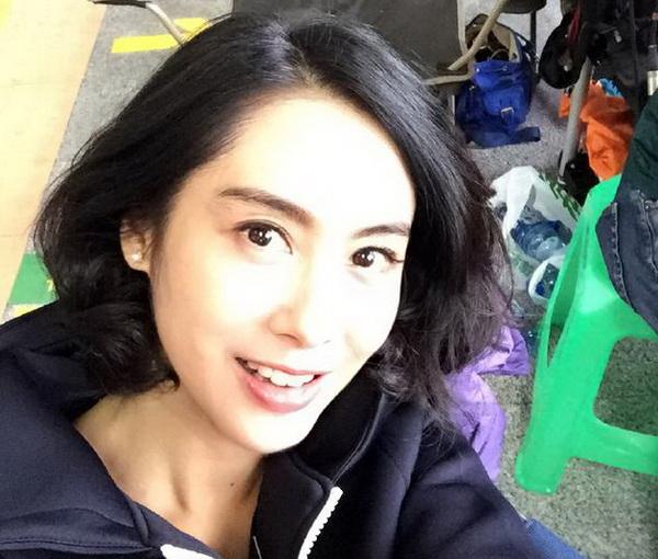 朱茵的短发发型分享展示图片