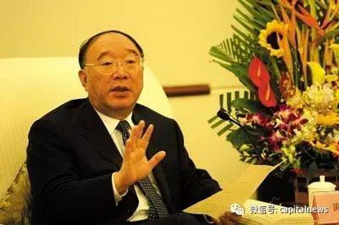 黄奇帆辞任重庆市长:接任者出身军工系统43岁已正部