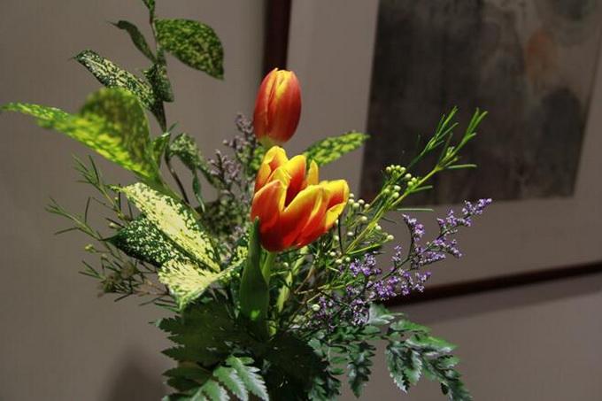 冠生园花艺课堂让春节更有年味儿:岁朝插花 迎春品香