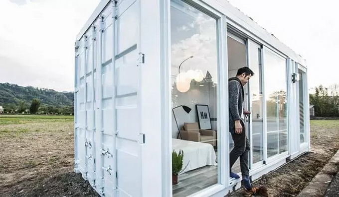 台湾设计师造打造的集装箱小屋