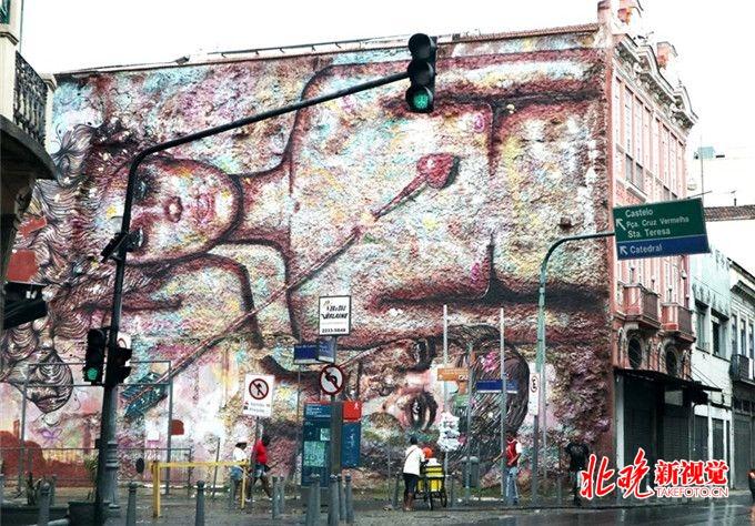 巴西涂鸦 与人们朝夕相伴的街头艺术图片