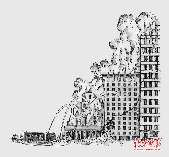 高楼大厦用上了 导弹 揭秘高层消防有多难