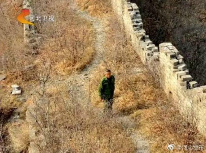 62岁的张鹤珊是秦皇岛抚宁城子峪村的普通农民,从1978年起就开始守护