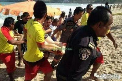 高烧中救溺水儿童 奋力把幼童救上岸并给幼童做急救