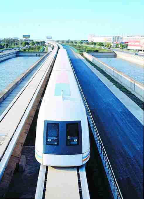 磁浮地铁准备上路 北京S1线顺利完成第一阶段热滑试验图片