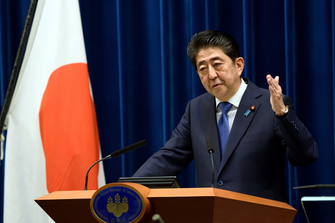 安倍背水一战? 日本大选执政党欲获过半席位称达不到就辞职