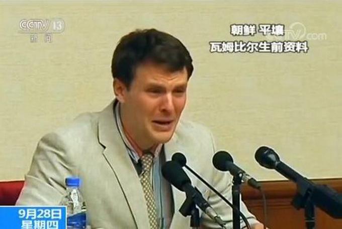 从朝鲜获释大学生验尸结果公布 残杀无辜游客批评声不断