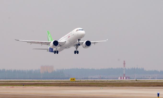 """国产大飞机c919计划今日首次出""""远门"""" 飞行时间约3小时"""