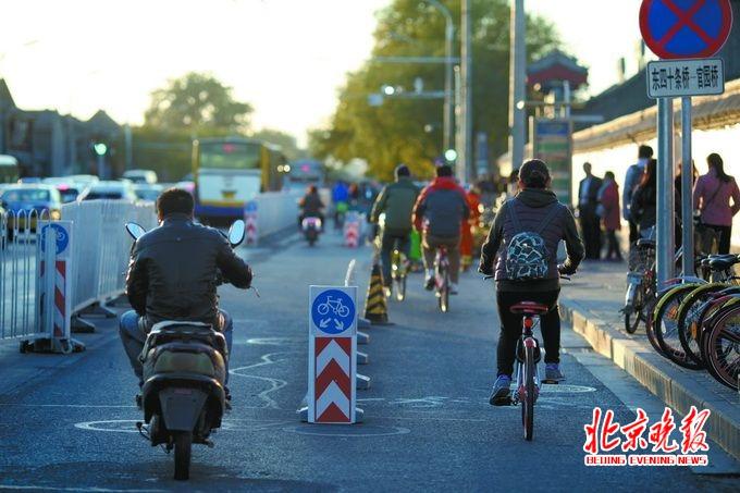 自行车道分快慢早晚差异大 提高出行效率尚需多方适应