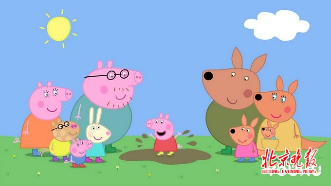 比如第五季第一集中猪爸爸其实是很怕坐过山车的,小猪佩奇有时候也是
