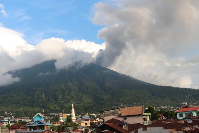 巴厘岛阿贡火山-北京晚报官方网站