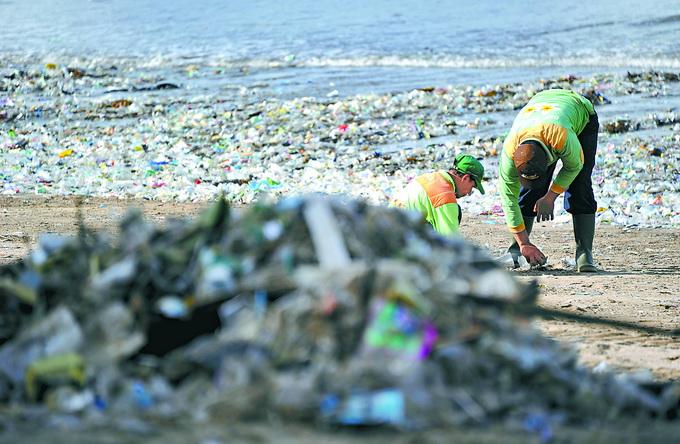 """旅游胜地海洋垃圾成灾! 巴厘岛进入""""垃圾紧急状态"""""""