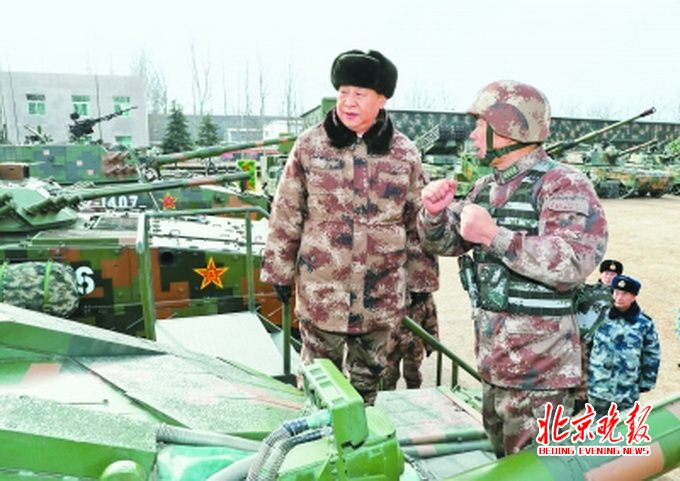 习近平视察中部战区陆军某师 强调大抓实战化军事训练