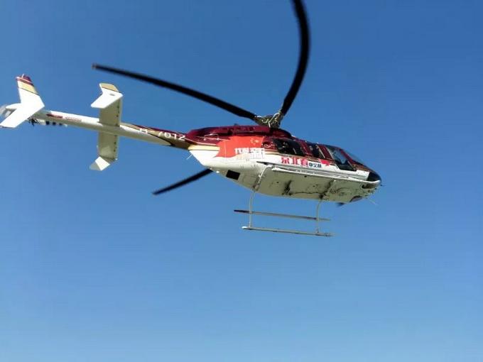 首条低空旅游航线开通! 五位北京市民乘坐直升机环游北京