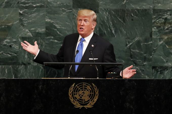 反击朝鲜核威胁 特朗普:我的核按钮比金正恩的